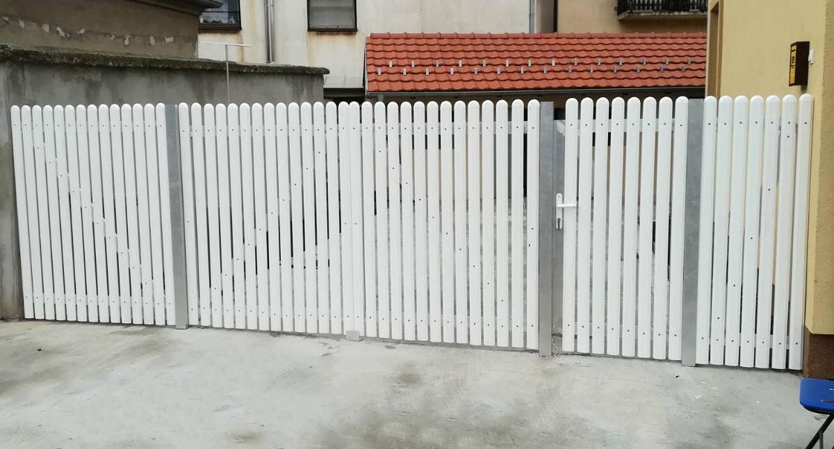 PVC ograde  CANE Osečina